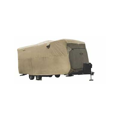 Travel Trailer Cover - ADCO Storage Lot RV Cover 15'L And Under