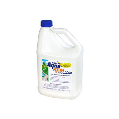 Holding Tank Treatment - Aqua-Kem Liquid Holding Tank Treatment & Deodorant 1 Gallon