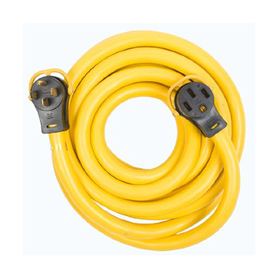 Power Cord - Arcon 50A Extension Cord With Folding Handles - 30'L