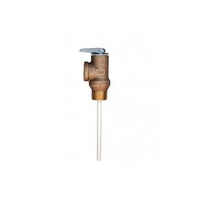 "Water Heater Pressure Relief Valve - Atwood Pressure Releif Valve With 1/2"" NPT Fitting"