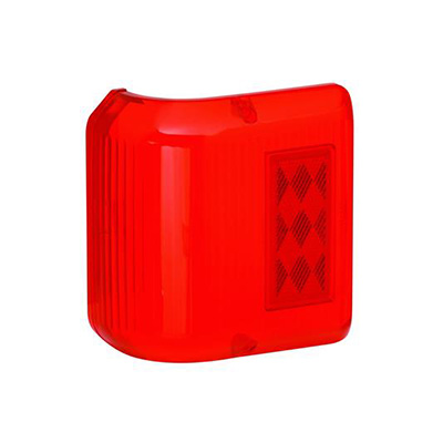 Tail Light Lens - Bargman 86 Series Wrap Around Corner Lens - Red