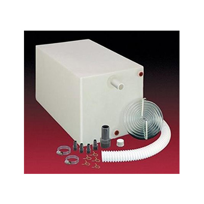 Water Holding Tank - Barker 26G Fresh Water Holding Tank With Installation Fittings - White