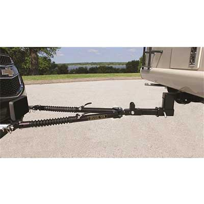 Tow Bar - Ascent Tow Bar With Adjustable Legs & 7500 Lbs Weight Capacity
