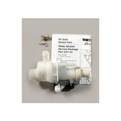 Toilet Water Valve - Bravura - Water Module Assembly And Install Hardware