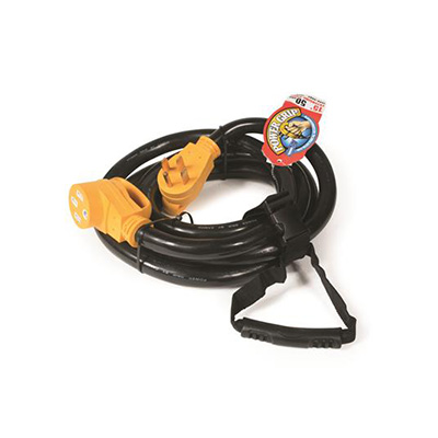 Power Cord - Power Grip RV Extension Cord 50A - 15'L