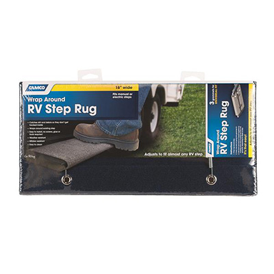 Step Rug - Camco Wrap-Around Regular RV Step Rug 18