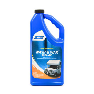 RV Wash & Wax - Camco Pro-Strength Wash & Wax 32 Ounce Bottle