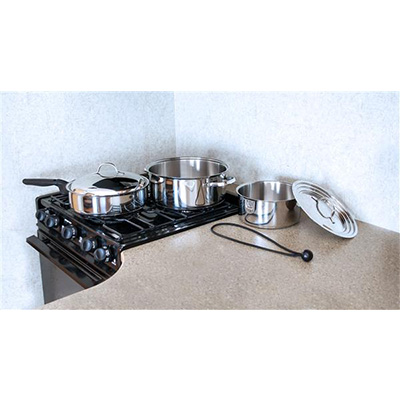 Pots And Pans - Camco 7-Piece Nesting Cookware Set Stainless Steel