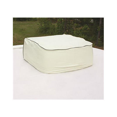 RV Air Conditioner Cover - Camco AC Cover Fits Duo Therm Colonial White