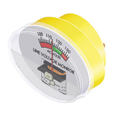 Voltage Meter - Camco 120 Volts AC Voltage Meter