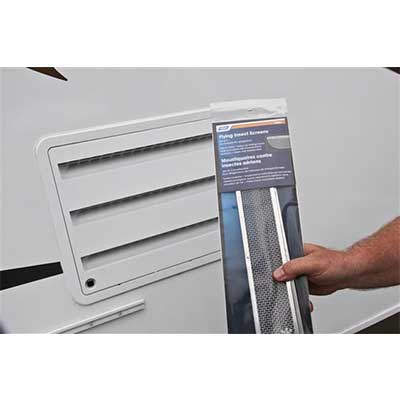 Insect Screens - Dometic Refrigerator Stainless Steel Access Door Screens
