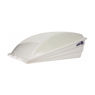RV Roof Vent Cover - Aero-Flo Exterior Roof Vent Cover White
