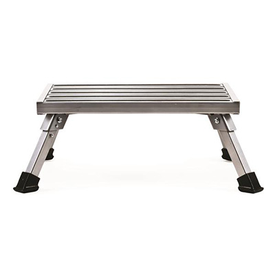Step Stool - Camco Platform Step Stool With Folding Legs - 1000 Lbs Capacity