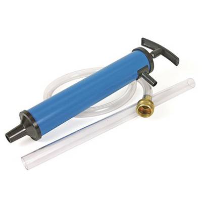 Winterizing Accessories - Camco Antifreeze Hand Pump Kit With Connection Hose Blue