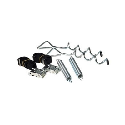 Awning Tie Downs - Camco Awning Anchor Kit With Tension Straps, Springs & Stakes