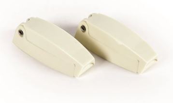 Door Catch - Compartment Door Catch Colonial White 2 Per Pack