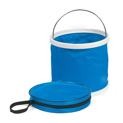Camping Buckets - Camco 3-Gallon Collapsible Bucket With Storage Bag