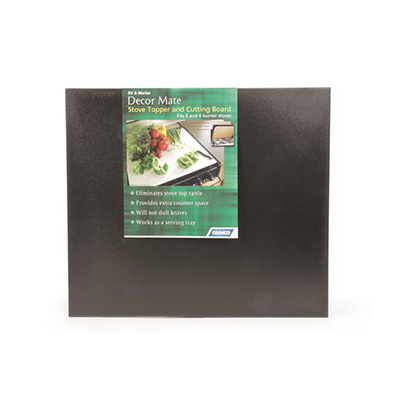 RV Range Covers - Decor-Mate Stove Top Cover Black