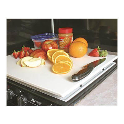 RV Range Covers - Decor-Mate Stove Top Cover White