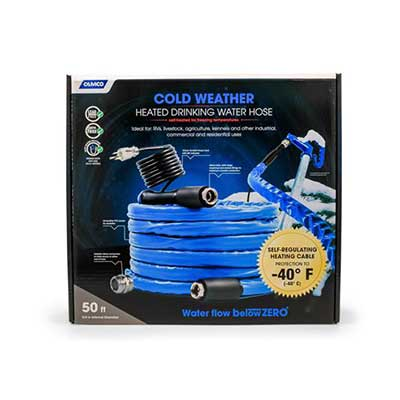 Heated Water Hose - Camco - Cold Weather Hose - 50'L - NSF Certified