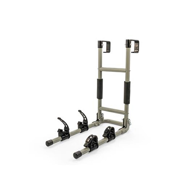 Bike Carrier - Camco - Ladder Mount Rack - Carries Up To 2 Bikes
