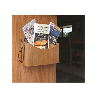 Organizer - Camco Oak Accents Surface Mount Organizer 8-3/8