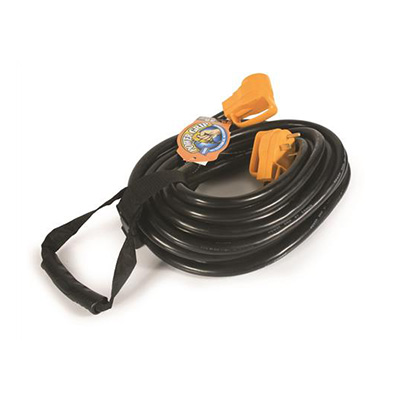 Power Cord - Power Grip 30A RV Extension Cord 50'L