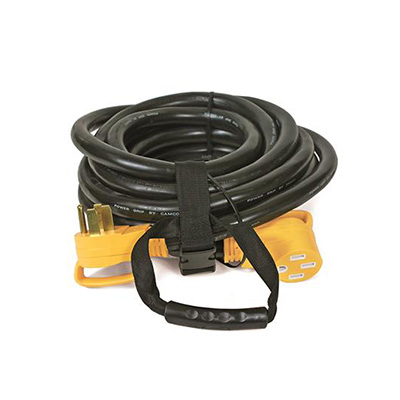 Power Cord - Camco Power Grip Extension Cord - 50A - 30'L