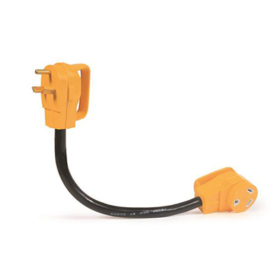 Power Cord Adapter - Power Grip 30A-M To 30A-F Dogbone Adapter 18