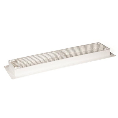 RV Refrigerator Roof Vent Base - Camco Universal-Fit Refrigerator Roof Vent Base White