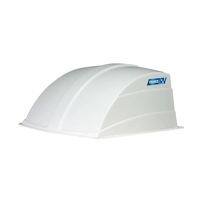 RV Roof Vent Cover - Camco Aerodynamic Exterior Roof Vent Cover - White