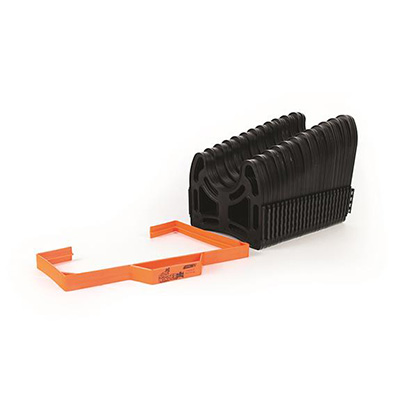 Sewer Hose Accessories - Sidewinder Sewer Hose Support 20'L Black