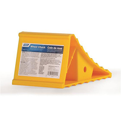 Wheel Chocks - Camco Small-Size Plastic Wheel Chocks 1 Per Pack