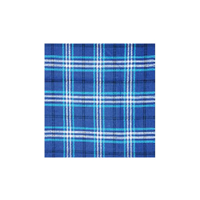Picnic Blanket - Carefree PVC Coated 6.5' x 5.5' Waterproof Blanket - Blue Plaid