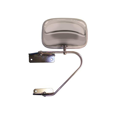 Towing Mirrors - CIPA Bolt-On Truck & Van Mirror 1 Per Pack Chrome