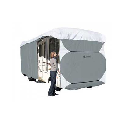 Class A Motorhome Cover - PolyPRO 3 Deluxe All Season Cover With Storage Bag 33'L To 37'L