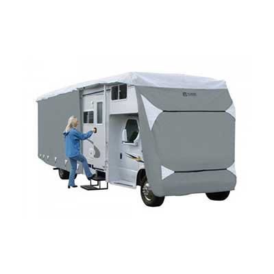 Class C Motorhome Cover - PolyPRO 3 Deluxe All Season Cover With Storage Bag 32'L To 35'L