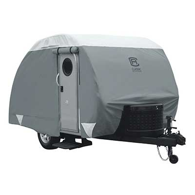 Teardrop Trailer Cover - PolyPRO 3 All Season Cover With Storage Bag 10' To 12'
