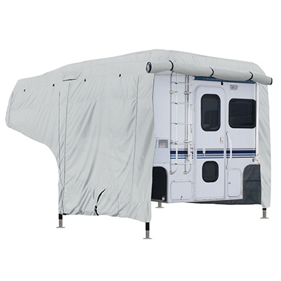 Truck Camper Cover - PolyPRO 3 Deluxe All Season Cover With Storage Bag 8'L To 10'L