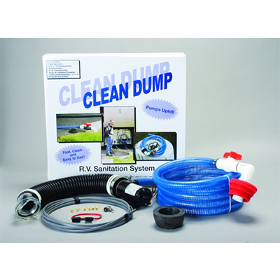 Macerator Pump - Clean Dump Macerator Pump Kit With Wiring Harness & Hardware 12V