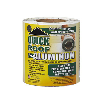 Repair Tape - Quick Roof Pro Aluminum RV Repair Tape 6