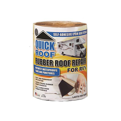 "Repair Tape - Quick Roof EPDM Repair Tape 6""W x 16'L - Black"