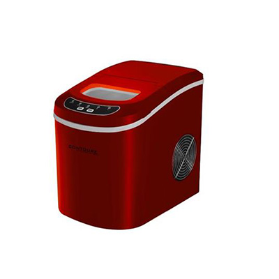 Ice Maker - Contoure Compact Ice Maker With Scoop & Tray 120V Red