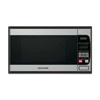 Microwave Oven - Contoure Microwave Oven With Glass Turntable 900W Stainless Steel