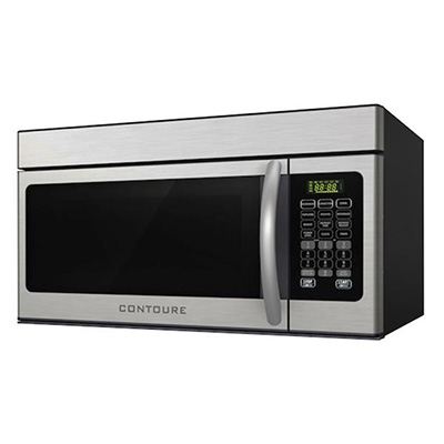 Microwave Convection Ovens - Contoure Convection Oven With Range Hood 900W Stainless