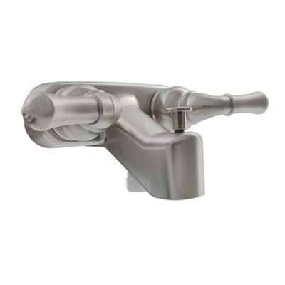 Tub Faucets - Dura Faucet Classical Diverter With Dual Levers - Satin Nickel
