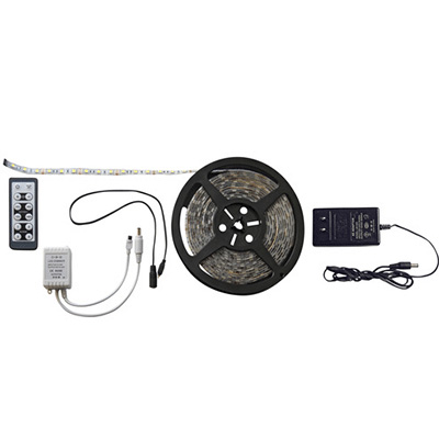 Strip Lights - Diamond Group Remote Control LED Strip Light 16'L - White