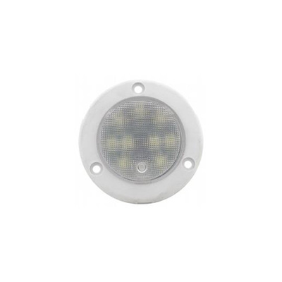 Interior Lights - Diamond Group LED Round Light With Click On/Off Power Control - 12V