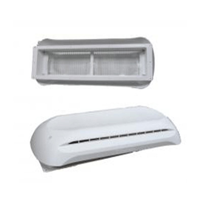 RV Refrigerator Roof Vent - Dometic Refrigerator Roof Vent Base & Cap White