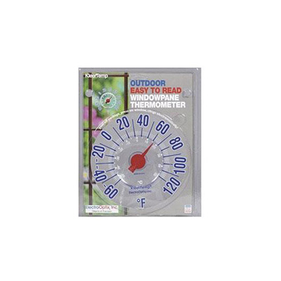 Thermometer - KleerTemp Electrostatic Windowpane Thermometer